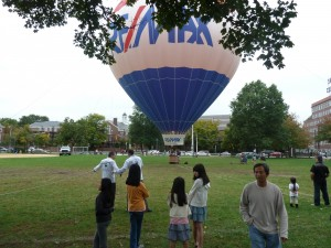 RE/MAX Balloon on Cambridge COmmon